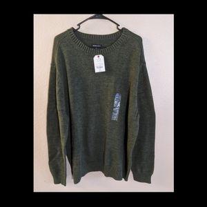 NWT ST. John's Bay Mens Heavy Green Sweater SZ XXL